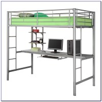 Bunk Bed With Desk Underneath Plans Download Page  Home ...