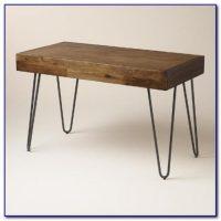 Desk Metal Legs Wood Top - Desk : Home Design Ideas # ...