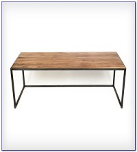 Wood Top Desk With Metal Legs Download Page  Home Design ...