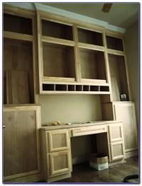 Diy Built In Bookshelves And Desk - Desk : Home Design ...