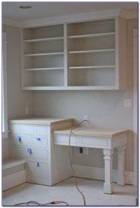 Built In Desk And Bookshelves - Desk : Home Design Ideas # ...
