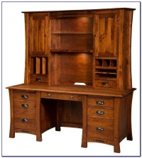 Solid Wood Corner Desk Home Office - Desk : Home Design ...