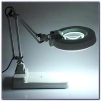 Desktop Lamp With Magnifying Glass - Desk : Home Design ...
