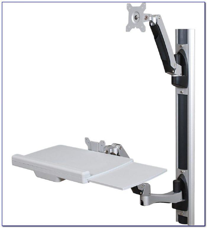 Wall Mounted Folding Table Brackets Desk Home Design