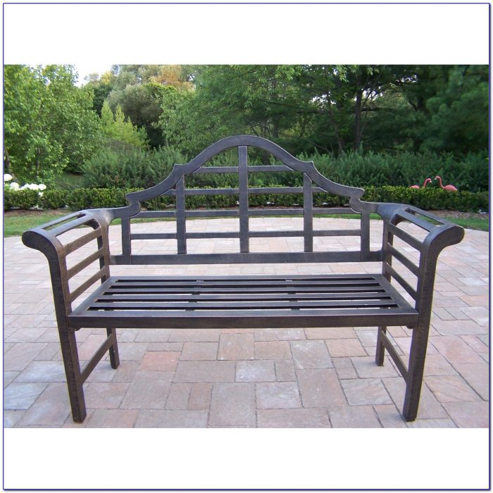 Cast Aluminum Garden Furniture Ebay Bench Home Design