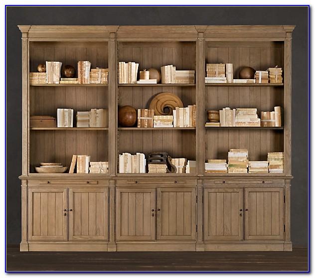 Restoration Hardware Open Bookcases Bookcase Home