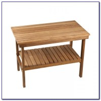 Wooden Bench For Bathroom Sink - Bench : Home Design Ideas ...