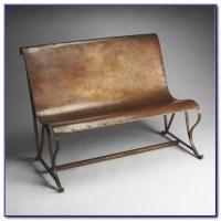 Wrought Iron Indoor Bench