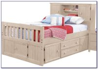 Zayley Full Bookcase Bed Dimensions - Bookcase : Home ...
