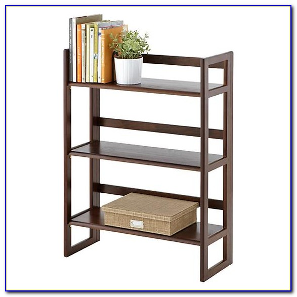 Rubberwood Folding Bookcase Bookcase Home Design Ideas