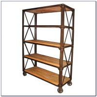 Wood And Metal Bookcases - Bookcase : Home Design Ideas # ...