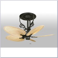 Hampton Bay Ceiling Fan With Palm Leaf Blades - Ceiling ...