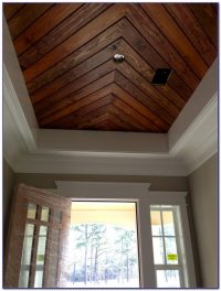 Faux Wood Paneling For Ceiling - Ceiling : Home Design ...