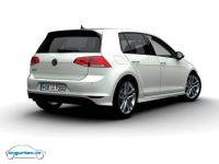 Foto (Bild): VW Golf VII - Farbe: Oryxwei Perlmutteffekt ...