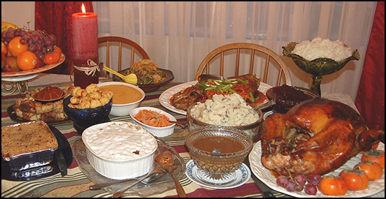 Thanksgiving Dinner for 10 \u003d $4948