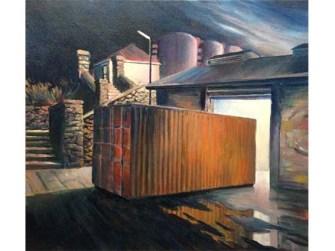 Kelly's Steps 2014 (88 x 92 cm) $2700