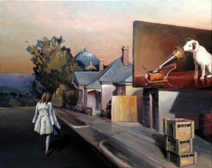 Town on the Highway - $950 (SOLD)