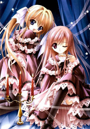 Fantasy Wallpaper Little Girl Manga Bild Animaatjes Manga 00580