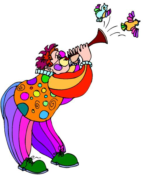 Cute Trumpet Wallpapers Clipart Clipart Clown Animaatjes 221