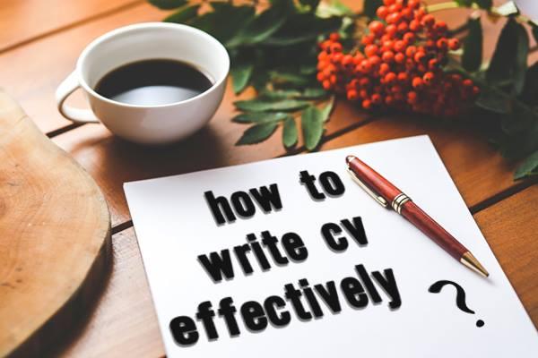 How to write an effective CV? - INTERNSHIP ABROAD - internships spain