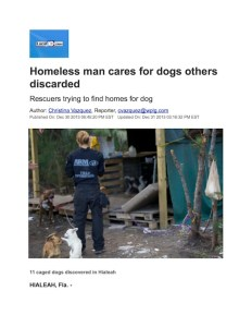 Tony and homeless dogs copy