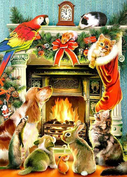 Animal Farm Wallpaper Merry Christmas To All The Animals Animals Zone