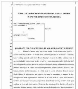 ALDF lawsuit