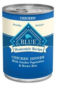 Blue Buffalo Chicken dinner can