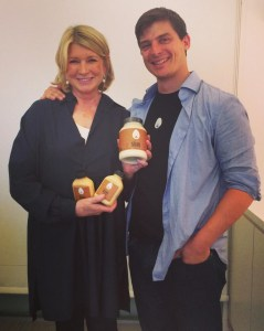 Martha Stewart & Josh Tetrick (Facebook photo)