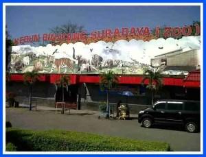 Surabaya Zoo entrance. (Facebook photo)