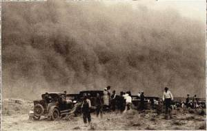 Dustbowl refugees