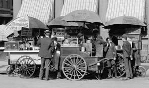 All of the people in this 1906 photo would probably be dead by now even if they had avoided red meat. But some of them might have lived longer.