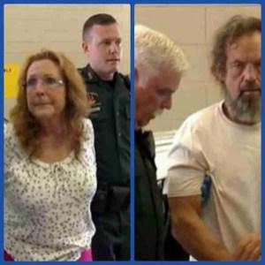 Darlynn Czerner, left; Butch Martin, right. (Polk County Sheriff's Office photos)
