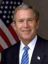 Former U.S. President George W. Bush (Wikipedia photo)