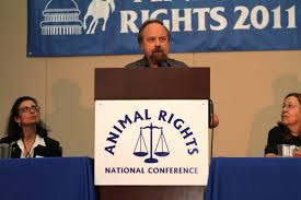 Farm Animal Rights Movement founder Alex Hershaft (FARM photo)