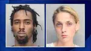 Javon Dade & Alessandra Carrasco.  (Miami-Dade Department of Corrections)