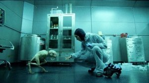 "Truth at the CDC appears to have been at times scarier than science fiction.  Above:  scene from ""Splice."""