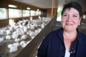 Adele Douglass (Humane Farm Animal Care photo))
