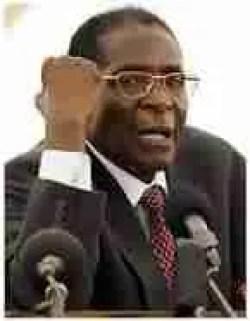Robert Mugabe, president of Zimbabwe since 1980. (Wikipedia)