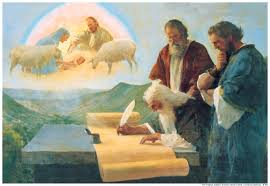 The prophet Isaiah also opposed animal sacrifice. (Painting from www.LDS.org.)