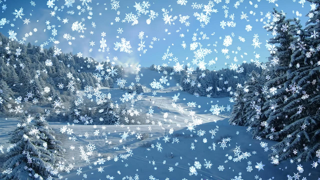Free Animated Desktop Wallpaper Like Snow Falling On Background Special Snow Wallpaper Downloads