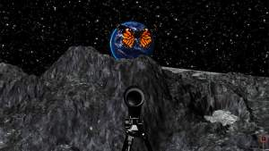 Animated Visions Production | butterfly on moon