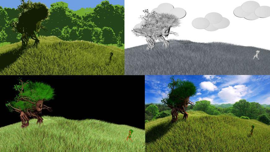 Animated Visions Production Scene Setup