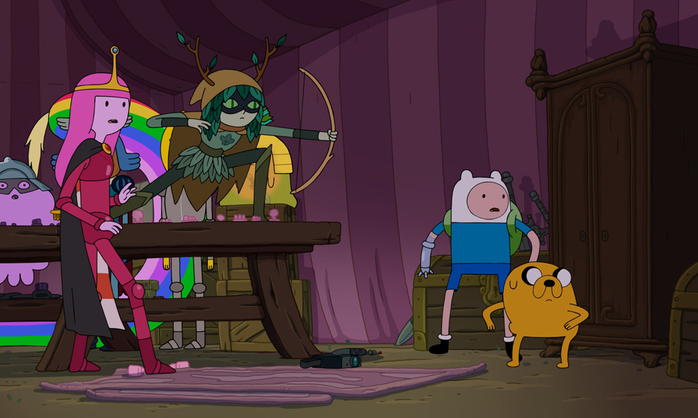 Funny Boy And Girl Wallpaper Cartoon Network Dates Adventure Time Finale Amid