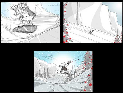Storyboarding Fundamentals Animation Mentor - anime storyboard