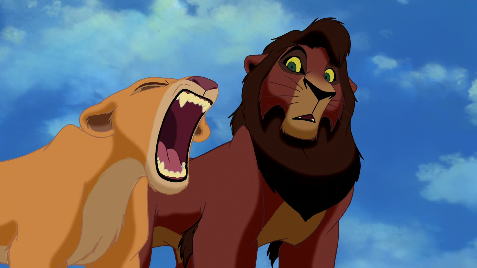 the lion king 1 12 hyenas attack