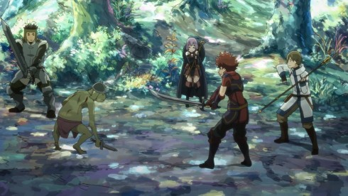 Another Anime Wallpaper Hai To Gensou No Grimgar 02 Anime Evo