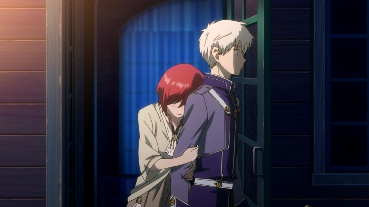 Boy Say To Girl Sorry Wallpaper Akagami No Shirayuki Hime 20 Anime Evo