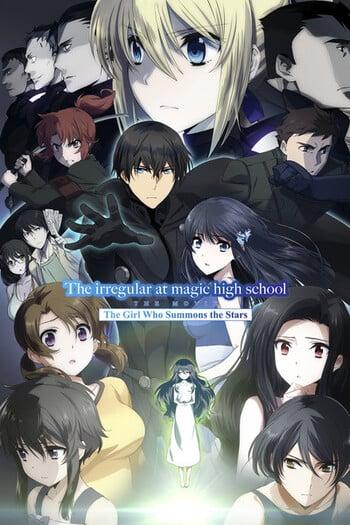 Black Magician Girl Wallpaper The Irregular At Magic High School Movie Anime Planet