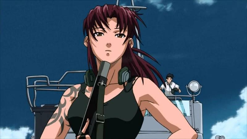 Wallpaper Cowboy Girl Black Lagoon Anime Planet